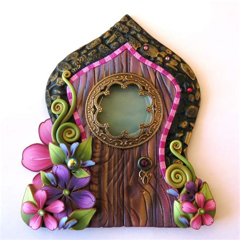 Fairy Door Pixie Portal Home Decor Fairy Garden Accessory