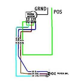 afi wiper motor wiring diagram circuit diagram maker