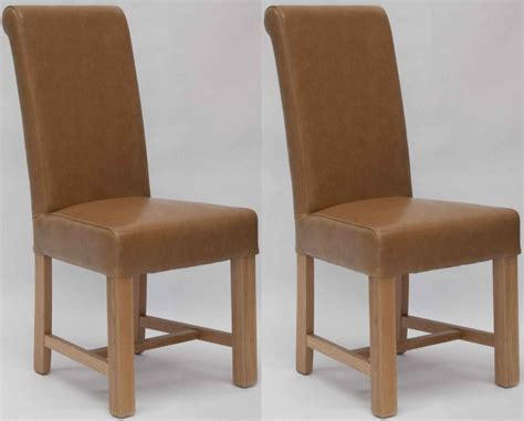 Dining Chairs Uk Buy Homestyle Gb Louisa Bycast Leather Dining Chair Pair Cfs Uk