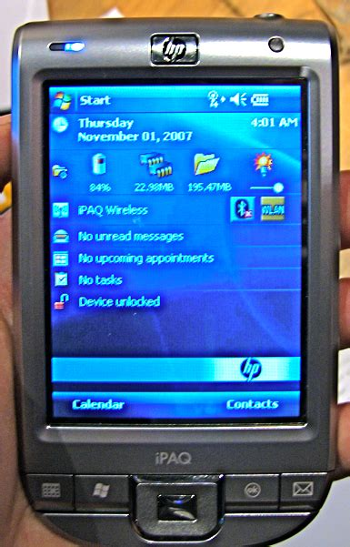 Hp Lg Windows on with hp s windows mobile ipaqs ces 2008 windows central