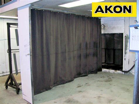 dust curtains screens industrial dust control curtains akon curtain and dividers