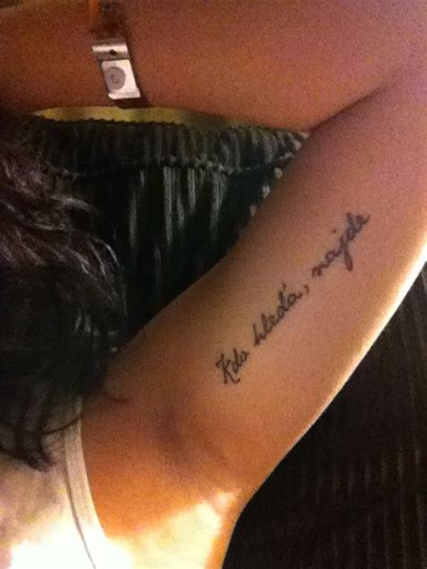 bicep quote tattoos inner arm special date next tat ideas