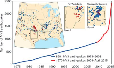 unt cus map is the gas industry causing earthquakes a quot landmark quot study suggests yes cleantechnica