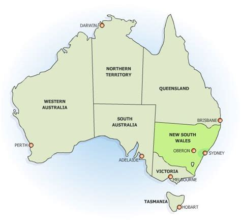 Search Australia Nsw Nsw Map Australia My