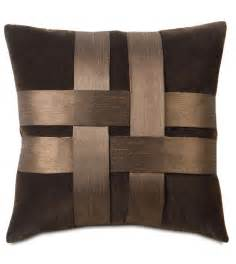 Decorative Cushions Here S An Idea For Basket Weave Detail These Are Silk