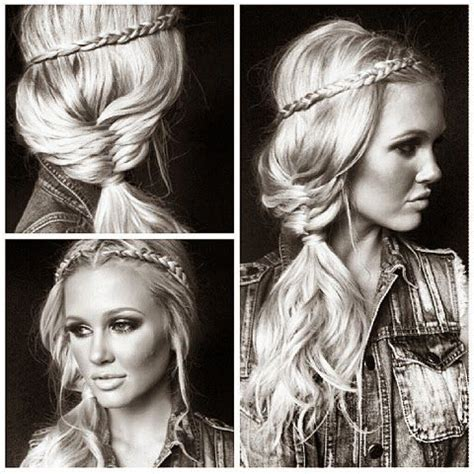 cute country hair styles 230 best images about country girl hairstyles on