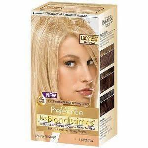 loreal hair color reviews l oreal superior preference les blondissimes hair color