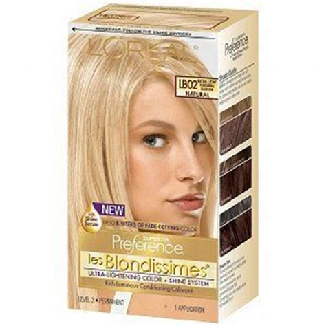 loreal superior preference hair color l oreal superior preference les blondissimes hair color
