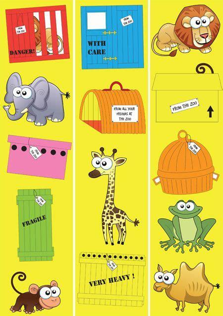 dear zoo printable animals dear zoo clipart clipartxtras