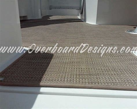 boat carpet wood look overboard designs marine carpeting snap in carpeting