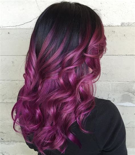 how does purple shoo work on recent highlights sizzling purple hair highlights new hair color ideas