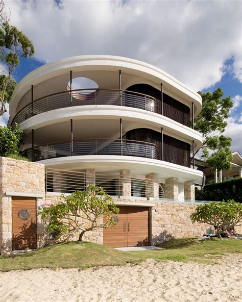 home architecture design design upgrade for three level waterfront home near sydney