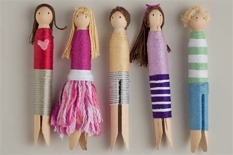 doll diy 8 ways to make wooden dolls handmade