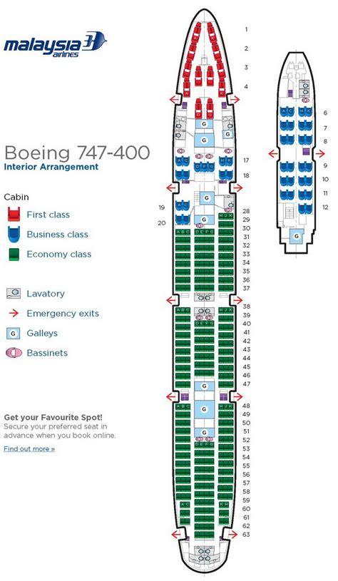 aircraft 747 seating plan boeing 747 400 seating chart
