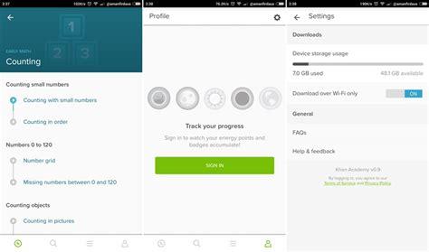 khan academy android aplikasi khan academy sedia dimuat turun pada peranti android belajar di mana mana sahaja amanz