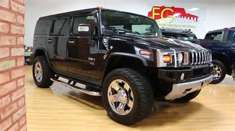 2008 hummer h2 for sale black sedona chrome xds navi dual