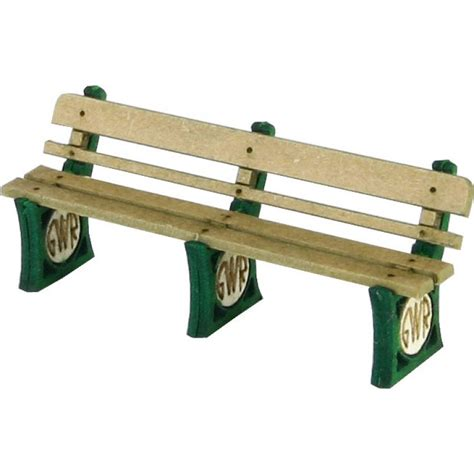 gwr bench gwr station bench seats x 4 laser cut kit oo scale
