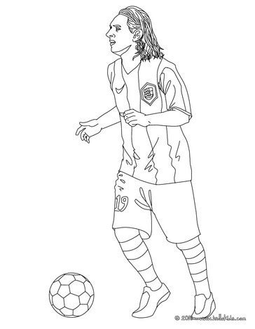 lionel messi playing soccer coloring pages hellokids com