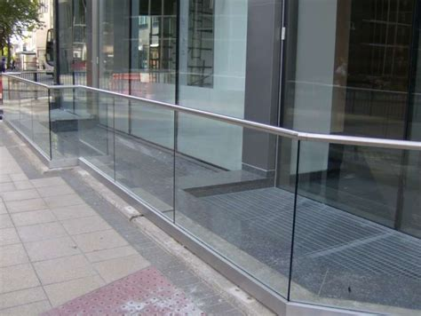 Exterior Balustrade External Glass Balustrade Projects By The Glass Balustrade Co