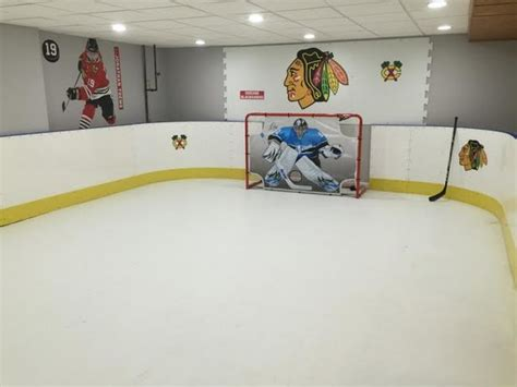 Dining Room Linens basement hockey rink basement chicago by d1 backyard