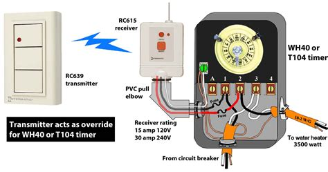 intermatic transformer wiring diagram intermatic t104r