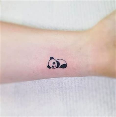 cutest small tattoos 25 best ideas about panda tattoos on monkey