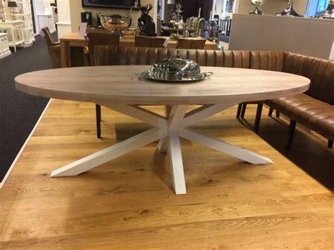 esstisch oval eiche tischplatte tisch oval massivholz