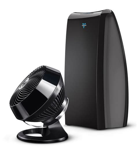 new vornado vortex 660 floor fan and air circulator and ac500 air purifier black vornado