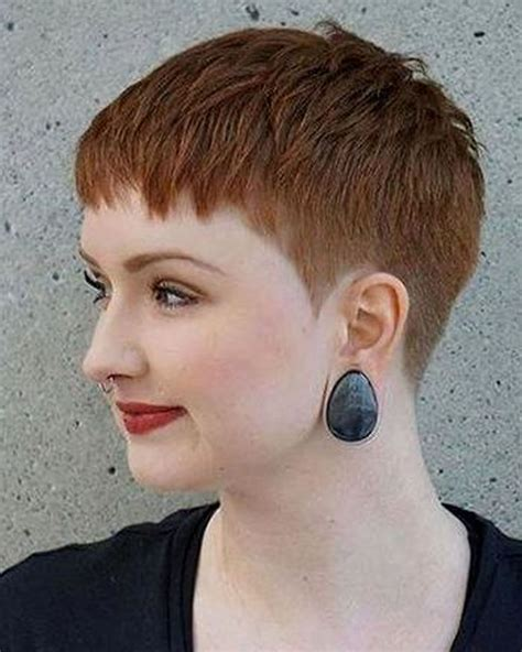hairstyles for round face and thin hair 2018 top 9 pixie