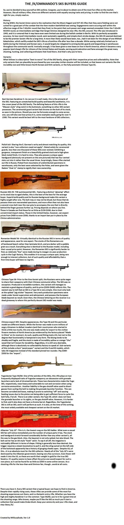 s guide k ommando s guide to the buying of samozaryadnyj karabin