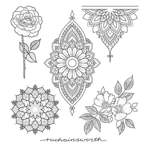 mandala henna tattoo designs pin by patrik nevlud on mandala