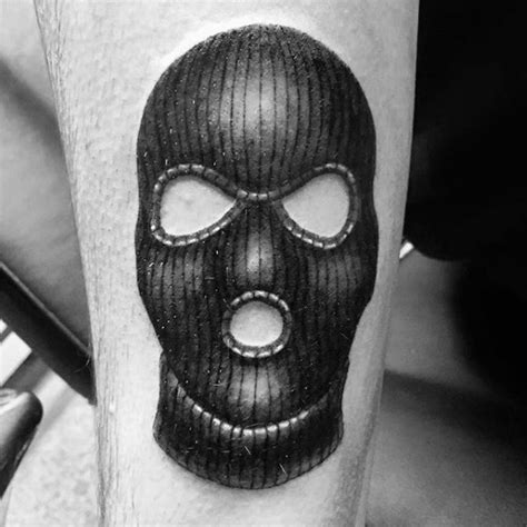 30 ski mask tattoo designs for men masked ink ideas