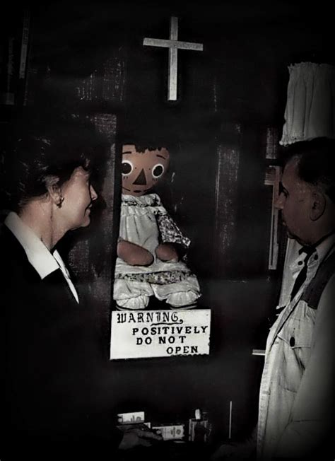true story of the true story of annabelle the haunted doll from the