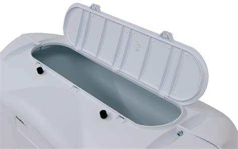 Cover Tank Platinum 2 camco rv polyethylene propane tank cover for 2 20 lb steel tanks polar white camco rv covers