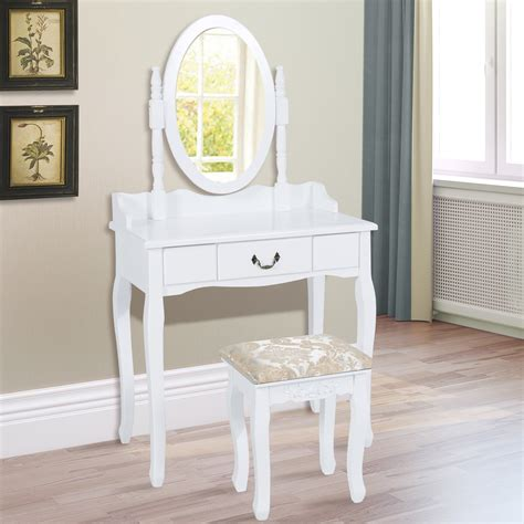 walmart white dresser set youth vanity bench and mirror set with jewelry storage