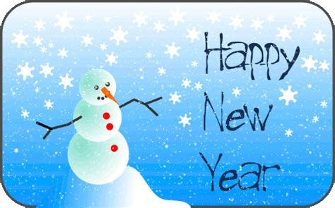 file snowman new year card gif wikimedia commons