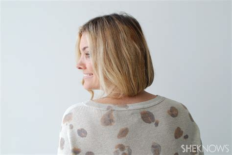 how to make a bob wrap out of human hair how to create a faux bob