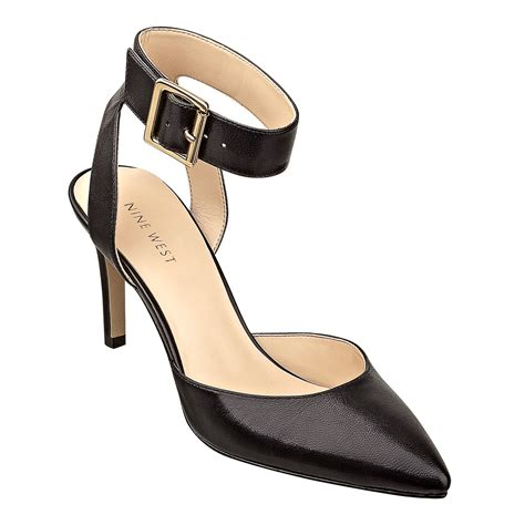 On Our Radar The At Nine West by Lyst Nine West Callen Ankle Heels In Black