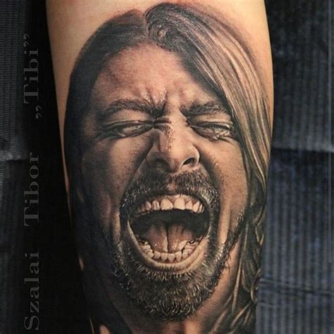 dave grohl tattoo 101 genius tattoos that you ll want to get for yourself