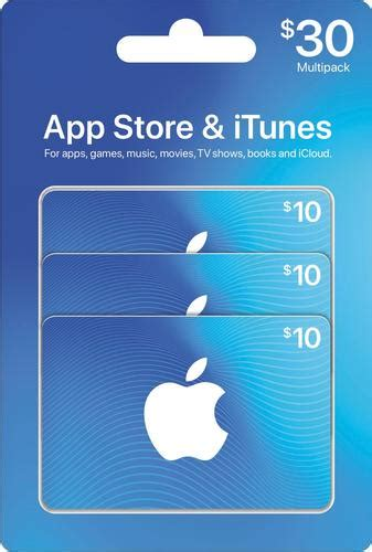 Itunes 100 Gift Card Multipack 4 25 - apple 30 app store itunes gift cards multipack pink itunes mp 0114 30 best buy