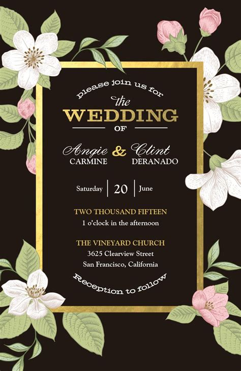 Wedding Invitations Vista Print by Evening Wedding Invitations Vistaprint Matik For