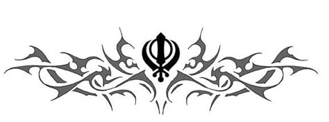 khanda lion tattoo designs khanda design gallery