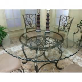 Wrought Iron Glass Dining Table Glass Top Wrought Iron Dining Tables Bourne