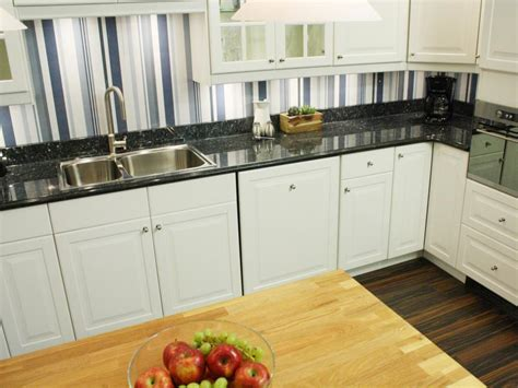 wallpaper for backsplash in kitchen cheap versus steep kitchen backsplashes hgtv