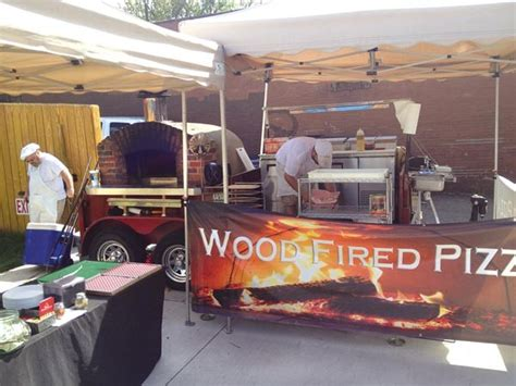 arsenal cider house wood fired flatbreads is a traveling enterprise specializing in super fast pizzas on