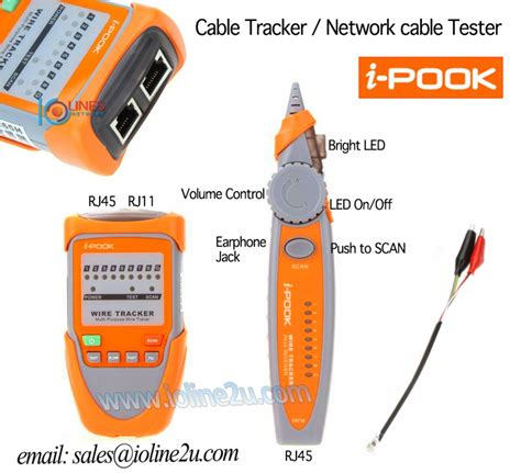 Best Seller Multi Purpose I Pook Pk65h Wire Tracker Cable i pook pk65h wire tracker finder cable tester tel end 8 5 2018 11 06 00 am