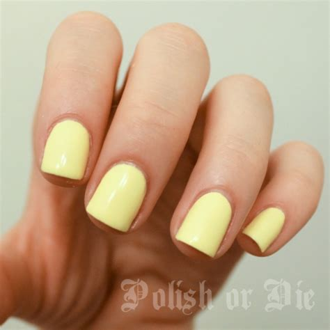 light yellow nail polish obsessing over pale yellow nail polish gotta have it
