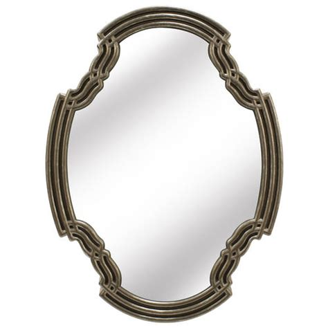 14 X 20 Mirror by Edinburgh Designs 14 75 Quot W X 20 Quot Oval Concert Wall Mirror
