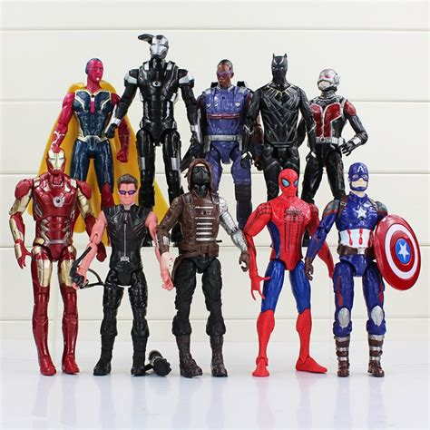 Figure Wars Isi 10 jual mainan pajangan figure marvel dc comic isi 10 di lapak math shop mathshop