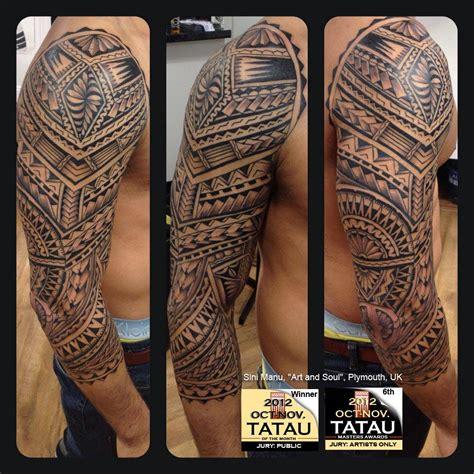tribal tattoos uk sini manu quot and soul quot plymouth uk
